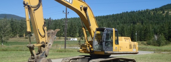 Currently dismantling – John Deere 370C LC Excavator for Parts