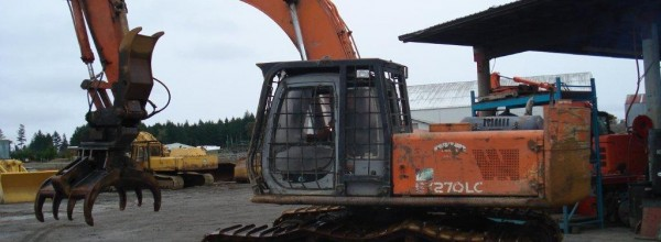 Currently Dismantling – Hitachi 270-5