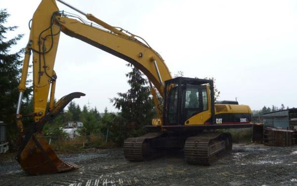 Caterpillar 330C Excavator – $69,000