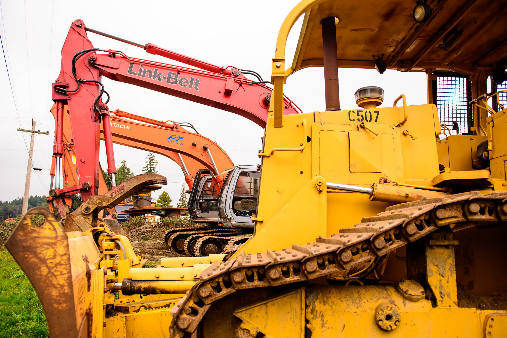 Heavy Equipment Salvage Parts - V.I. Equipment