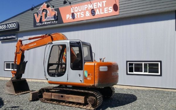 Hitachi EX60-5 Mini Excavator – $34,500
