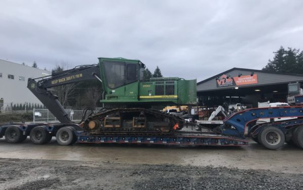 John Deere 2154D Forestry Machine – $98,500